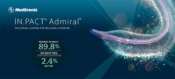 IN.PACT® Admiral® – PACLITAXEL-COATED PTA BALOON CATHETER